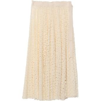 《セール開催中》JIL SANDER レディース 7分丈スカート ホワイト 36 アクリル 50% / ウール 50% / コットン