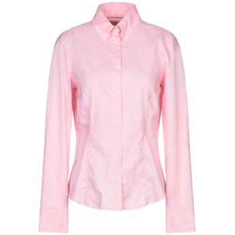 《セール開催中》JECKERSON レディース シャツ ピンク M コットン 66% / ポリエステル 31% / ポリウレタン 3%