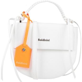 《セール開催中》BALDININI レディース ハンドバッグ ホワイト 牛革(カーフ) 70% / ポリ塩化ビニル 30%
