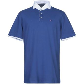 《セール開催中》WEBB & SCOTT CO. メンズ ポロシャツ ダークブルー S コットン 94% / ポリウレタン 6%