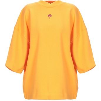 《セール開催中》MAISON SCOTCH レディース スウェットシャツ オレンジ M コットン 100%