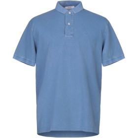 《セール開催中》GRAN SASSO メンズ ポロシャツ パステルブルー 56 コットン 100%