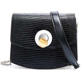女性の磁気バックル小さな正方形のバッグメッセンジャーバッグポータブルメッセンジャーバッグ財布絶妙なPUレザートップハンドルスタイリッシュなクロスボディ多目的ショルダーバッグ - 可愛い 小物入れ (Color : Black, Size : (18cm x 8cm x 15 cm))