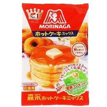 森永 德用鬆餅粉(150gx4袋入) [大買家]