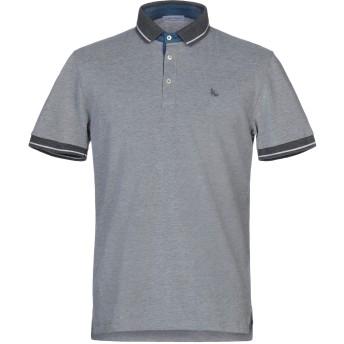 《セール開催中》GRAN SASSO メンズ ポロシャツ グレー 52 コットン 100%