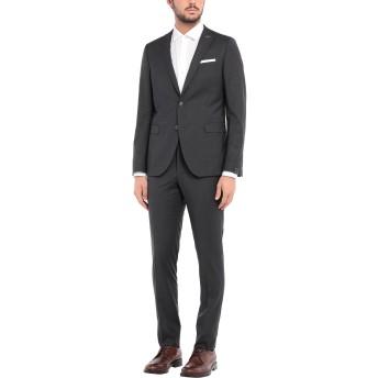 《セール開催中》PAOLONI メンズ スーツ スチールグレー 46 レーヨン 39% / ポリエステル 39% / バージンウール 20% / ポリウレタン 2%