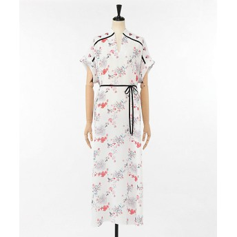<Mame Kurogouchi /マメ クロゴウチ> ドレス PINK【三越・伊勢丹/公式】