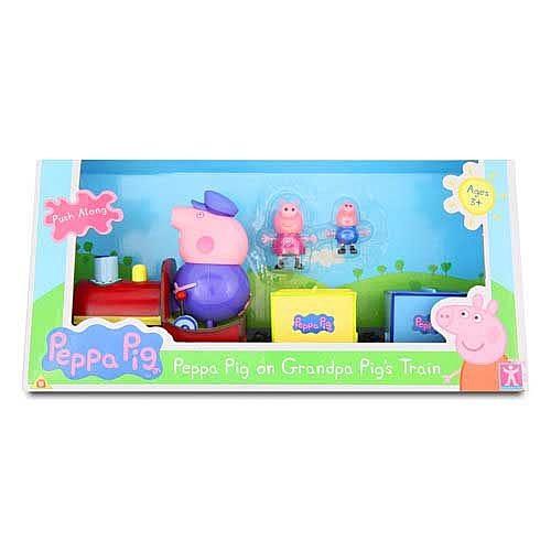 Peppa Pig 粉紅豬小妹 歡樂火車組 TOYeGO 玩具e哥