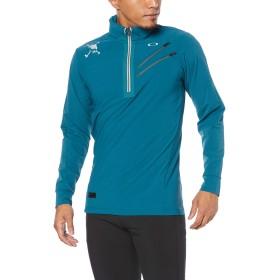 [オークリー] セーター SKULL ALOFT WOVEN LS MOCK メンズ MOROCCAN BLUE US L (日本サイズXL相当)
