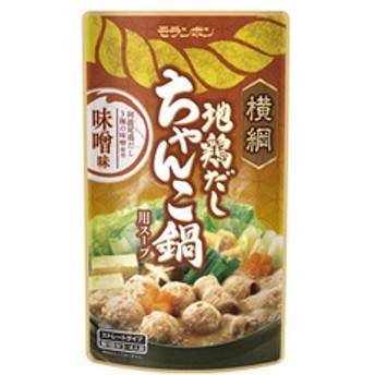 シヤチハタ横綱 地鶏だし ちゃんこ鍋用スープ 味噌味F373015