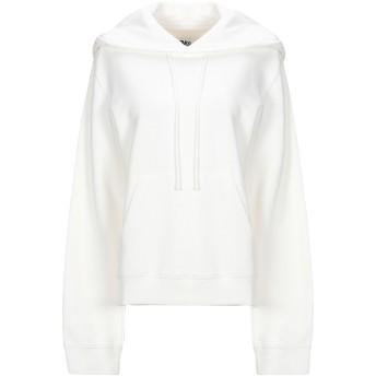 《セール開催中》MM6 MAISON MARGIELA レディース スウェットシャツ ホワイト XS コットン 100% / ポリウレタン