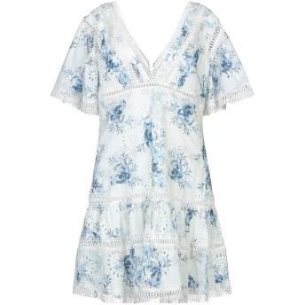 《セール開催中》GUESS レディース ミニワンピース&ドレス ホワイト L コットン 100%
