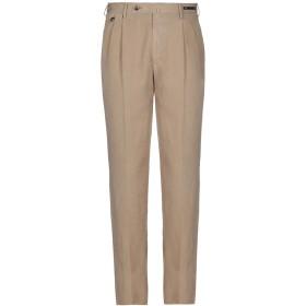 《セール開催中》PT01 メンズ パンツ サンド 48 テンセル 59% / リネン 23% / コットン 18%