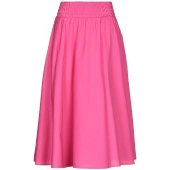 《セール開催中》SUSY-MIX レディース 7分丈スカート フューシャ S/M コットン 100%
