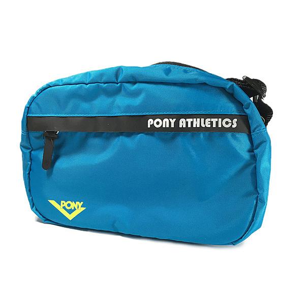 Pony Cross Body Bag [71U3AB81BG] 側背包 運動 休閒 輕量 肩背 斜背 藍 黑