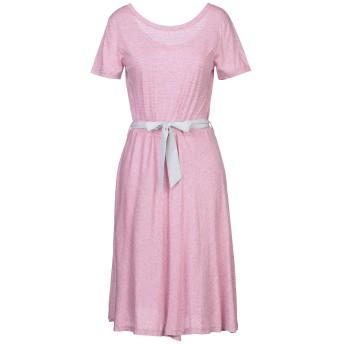 《セール開催中》SUN 68 レディース ミニワンピース&ドレス ピンク L コットン 100%