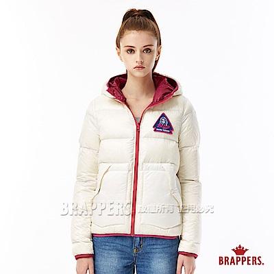 雙面穿休閒外套使用防水羽絨特殊素材活潑明亮的撞色設計型號:BD6501-69