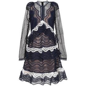 《セール開催中》ODI ET AMO レディース ミニワンピース&ドレス ブルー XS コットン 100%