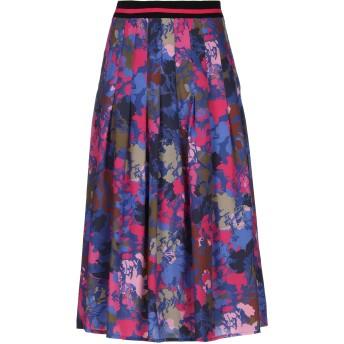 《セール開催中》RUE8ISQUIT レディース 7分丈スカート ブルー 38 ポリエステル 100%