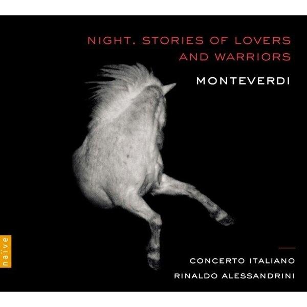 【停看聽音響唱片】【CD】蒙台威爾第:夜晚(戀人與勇士的故事) 里納多.阿列山德里尼 指揮