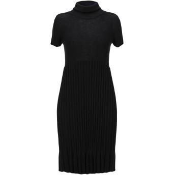 《セール開催中》POUR MOI レディース ミニワンピース&ドレス ブラック S ウール 50% / アクリル 50%