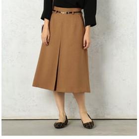 【Cheek:スカート】ベルト付きBOXスカート
