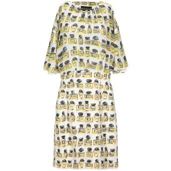 《セール開催中》BOUTIQUE MOSCHINO レディース ミニワンピース&ドレス ホワイト 38 コットン 97% / 指定外繊維 3% / レーヨン / シルク