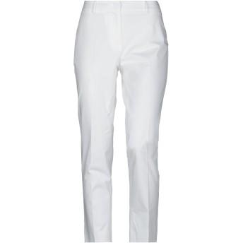 《セール開催中》WEEKEND MAX MARA レディース パンツ ホワイト 38 コットン 97% / ポリウレタン 3%