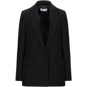 《セール開催中》KAOS レディース テーラードジャケット ブラック 44 ポリエステル 91% / ポリウレタン 9%