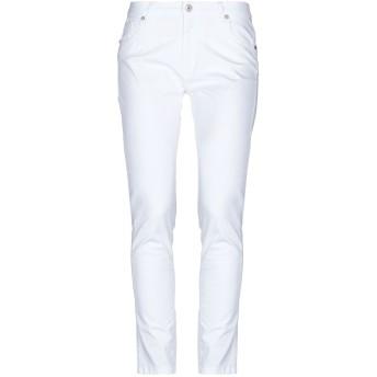 《セール開催中》DIXIE レディース パンツ ホワイト XS コットン 98% / ポリウレタン 2%