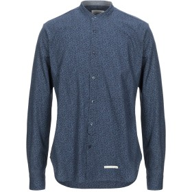 《セール開催中》TINTORIA MATTEI 954 メンズ シャツ ダークブルー 40 コットン 100%
