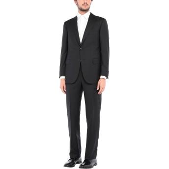 《セール開催中》PAL ZILERI メンズ スーツ ブラック 48 バージンウール 100%