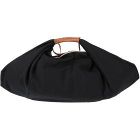 《セール開催中》GIANNI NOTARO C.J. レディース ハンドバッグ ブラック 紡績繊維 / 牛革(カーフ)