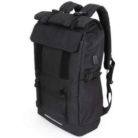 Sinntyan メンズ40L大容量旅行バックパックのUSB充電ノートパソコンのバックパックについてはティーンエイジャーの多機能トラベル男性スクールバッグ (色 : グレー, サイズ : 16inch)