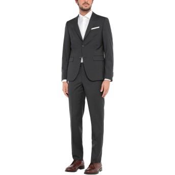 《セール開催中》LEBOLE メンズ スーツ スチールグレー 50 バージンウール 100%