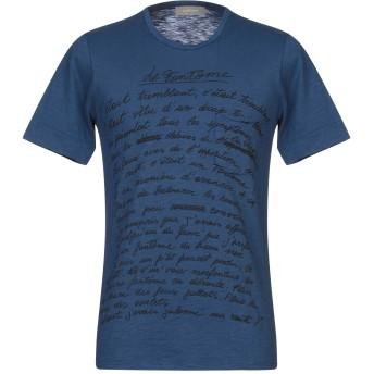 《セール開催中》MAESTRAMI メンズ T シャツ ブルー M コットン 100%