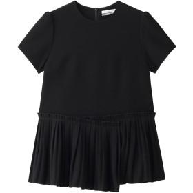 BORDERS at BALCONY ボーダーズ アット バルコニー 【予約販売】ツイルTシャツ ブラック