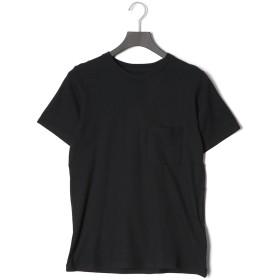 【68%OFF】RANDALL HORIZONTAL クルーネック 半袖トップ ブラック xs