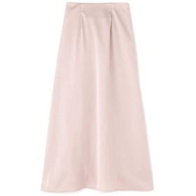 【公式/フリーズマート】サテン前後2Wayロングタックスカート/女性/スカート/ピンク/サイズ:FR/(表生地)ポリエステル 100%(裏生地)ポリエステル 100%