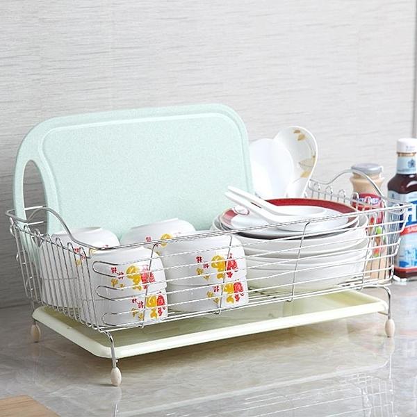 瀝水架 不銹鋼水槽洗菜籃子瀝水籃碗碟盤收納架水池置物架廚房用品