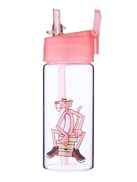 吸管杯玻璃杯帶吸管韓版原宿水杯女學生可愛創意韓國成人少女心清新杯子