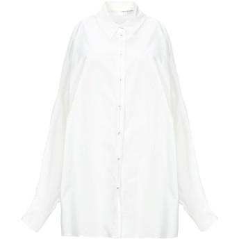 《セール開催中》ISABEL BENENATO レディース シャツ ホワイト 38 コットン 100%