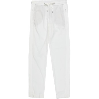 《セール開催中》MARC CAIN レディース パンツ ホワイト 1 ポリエステル 96% / ポリウレタン 4%