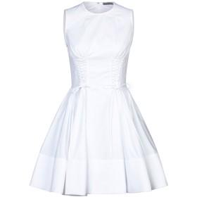 《セール開催中》ALEXANDER MCQUEEN レディース ミニワンピース&ドレス ホワイト 40 コットン 100%