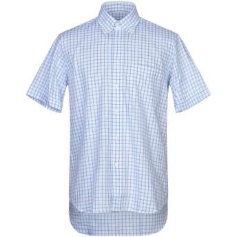 《セール開催中》INGRAM メンズ シャツ ホワイト 39 コットン 100%