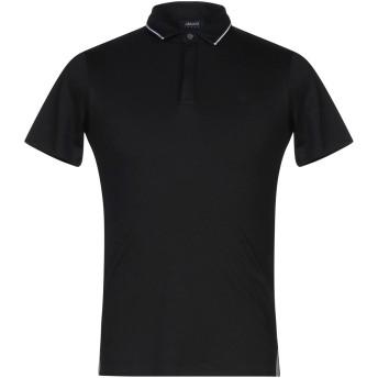 《セール開催中》ARMANI JEANS メンズ ポロシャツ ブラック XS コットン 100%