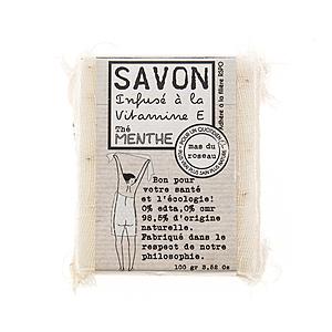 法國 mas du roseau 天然植物油馬賽皂 薄荷100g