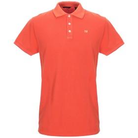 《セール開催中》SCOTCH & SODA メンズ ポロシャツ オレンジ M コットン 100%