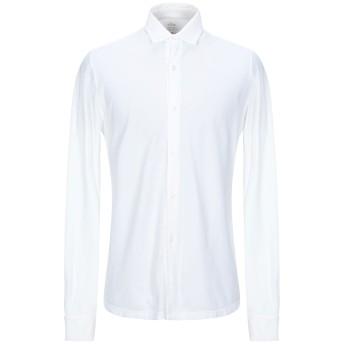 《セール開催中》ALTEA メンズ シャツ アイボリー M コットン 100%