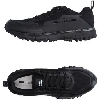 《セール開催中》McQ PUMA メンズ スニーカー&テニスシューズ(ローカット) ブラック 10.5 革 / 紡績繊維